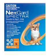 Buy Nexgard Spectra Chewables For Dogs Online - DiscountPetCare