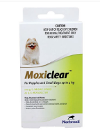Buy Moxiclear Flea & Tick Control For Dogs Online - DiscountPetCare