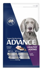 Buy Advance Healthy Ageing Large Breed Chicken with Rice| Pet Food
