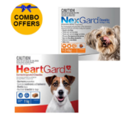 Buy Heartgard and NexGard Combo for Dogs Online - DiscountPetCare