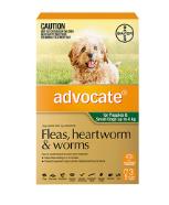 Buy Advocate Heartworm,  Flea & Intestinal Worm Control for Dogs Online
