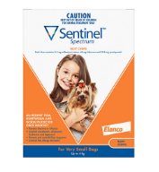 Buy Sentinel Heartworm Tablets For Dogs Online - DiscountPetCare