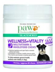 Buy Paw Wellness And Vitality Multivitamin Chews Online - VetSupply